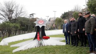 Beşiktaş Kulübü şehitlerimizi unutmadı