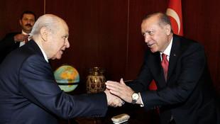 Erdoğan-Bahçeli görüşmesinin detayları belli oldu
