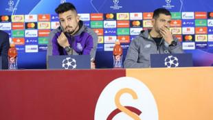 Sergio Conceiçao ve Alex Telles'den Galatasaray'a gözdağı