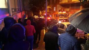İstanbul'da korku dolu anlar ! Patlama seslerine uyandılar