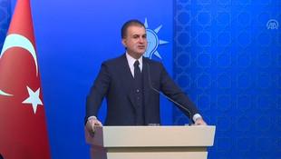 AK Parti Sözcüsü Çelik'ten kritik açıklama