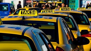 Taksi plakaları eridi