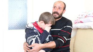 Oğluna böbreğini verecek baba ameliyat parasını bulamadı