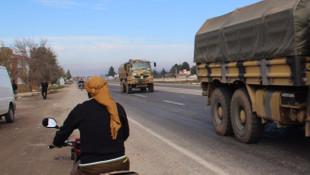 Askeri birlikler Suriye sınırında