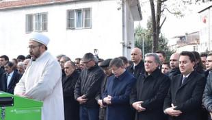 Gül, Davutoğlu ve Ali Babacan cenaze törenine katıldı