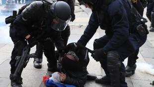 Sarı yelekliler yine sokakta: 37 gözaltı