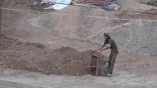 PKK/YPG'li teröristler böyle görüntülendi
