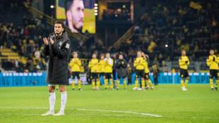 Dortmund'da Nuri'ye sevgi seli
