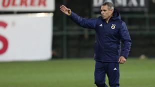 Ersun Yanal, ilk idmanında takımla konuşma yaptı