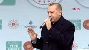 Cumhurbaşkanı Erdoğan'dan ''sokak'' açıklaması
