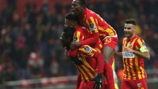 Kayserispor 1 - 0 Akhisarspor (Maç özeti)