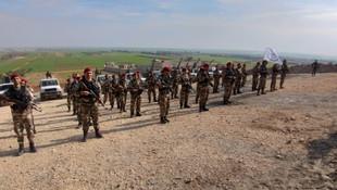 Bordo Bereli Hamza Özel Kuvvetler Tümeni operasyona hazır