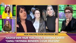 Nur Yerlitaş: Milyonlarca defa özür diliyorum
