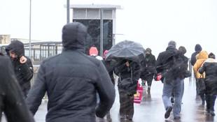 İstanbul'da kar, sağanak ve fırtına !
