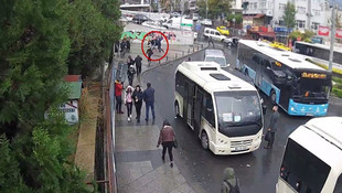 İstanbul'da gasp dehşeti kamerada