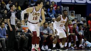 Cleveland Cavaliers son saniyede kazandı