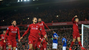 Liverpool 1 - 0 Everton (Maç özeti)