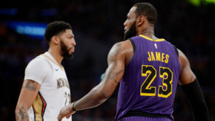Los Angeles Lakers Lebron James'le kazandı