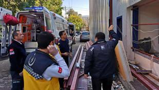 Bodrum'da bina çöktü: Yaralı işçiler var