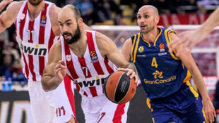 THY Euroleague'de 14. haftanın MVP'si Vassilis Spanoulis