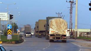 Komandolar ve askeri araçlar sınır hattına gidiyor !