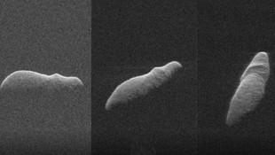 NASA radarları asteroidi görüntüledi