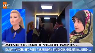 Müge Anlı'nın programında gözaltına alındı