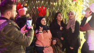 İç savaş bahane noel şahane! Suriyeliler yeni yılı böyle kutladı