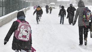 Eğitime kar engeli ! İşte okulların tatil edildiği illerimiz