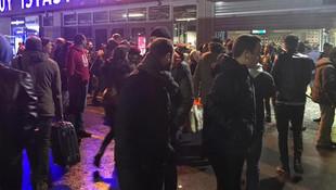 İstanbul'da metro istasyonunda intihar !