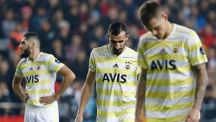 Fenerbahçe'den son 15 yılın en kötü galibiyet yüzdesi