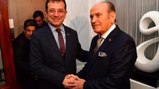 Ekrem İmamoğlu, AK Partili Topbaş'la bir araya geldi