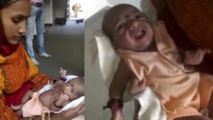 3 kollu doğan bebeği ''peygamber'' ilan ettiler