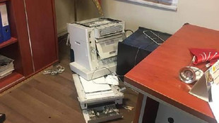 Kayseri'de CHP ilçe binasına saldırı