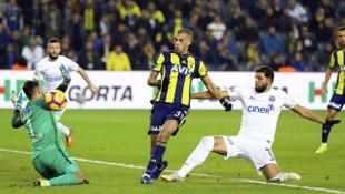 MAÇ ÖZETİ | Fenerbahçe 2 - 2 Kasımpaşa (Spor Toto Süper Lig puan durumu)