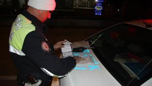 Sürücüler dikkat ! Bunu yapanlara 20 bin TL ceza verildi