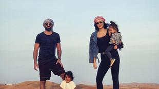 Volkan Demirel ailesiyle tatilde