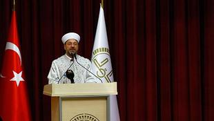 Diyanet İşleri Başkanı Ali Erbaş: ''Medreselere gidin''