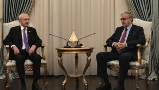 Kılıçdaroğlu, KKTC Cumhurbaşkanı ile görüştü
