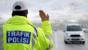 Trafikte rekor ceza ! Trafik polisi o sürücüye 10 bin 311 TL ceza kesti