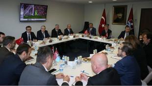 Trabzonspor'un yeni yönetiminde görev dağılımı yapıldı