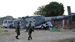 Helikopter faciası: 13 ölü, 15 yaralı
