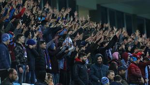 Trabzon'da taraftarlar isyan etti !