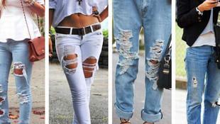 Yırtık Pantolonlar Nasıl Kullanılmalıdır?
