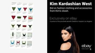 Kim Kardashian iç çamaşırlarını satışa çıkardı