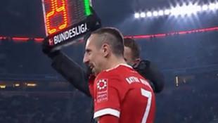 Ribery değişikliği tepki çekti !