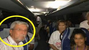 CHP otobüsündeki taciz skandalında yeni gelişme! Tutuklandı