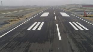 3. Havalimanı pisti hazır ! İşte son hali...
