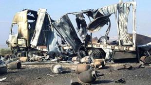 İşte TSK'nın vurduğu PKK/PYD konvoyunun son hali
