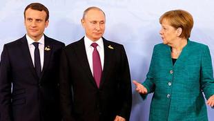 Fransa ve Almanya'dan Putin'e mektup